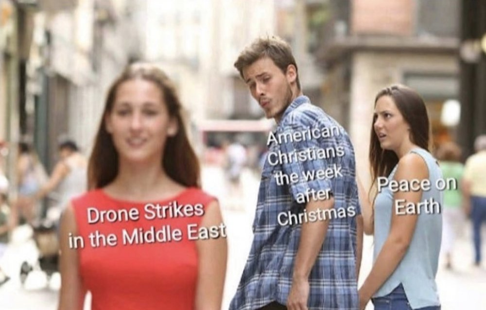 American christians are so easily distracted.jpg