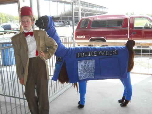 Doctor and llama tardis.jpg