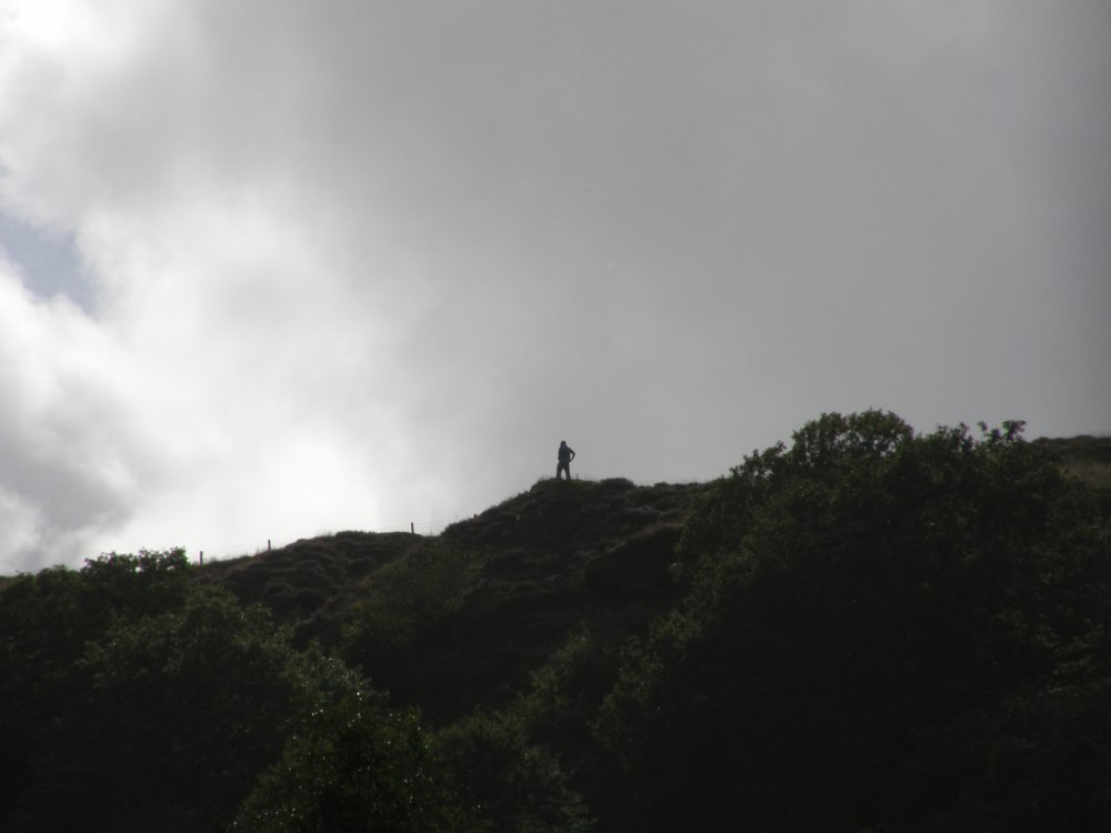 Man on a hill..JPG