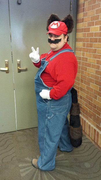 Raccoon Mario Dave At Modest-Con Side Shot.jpg