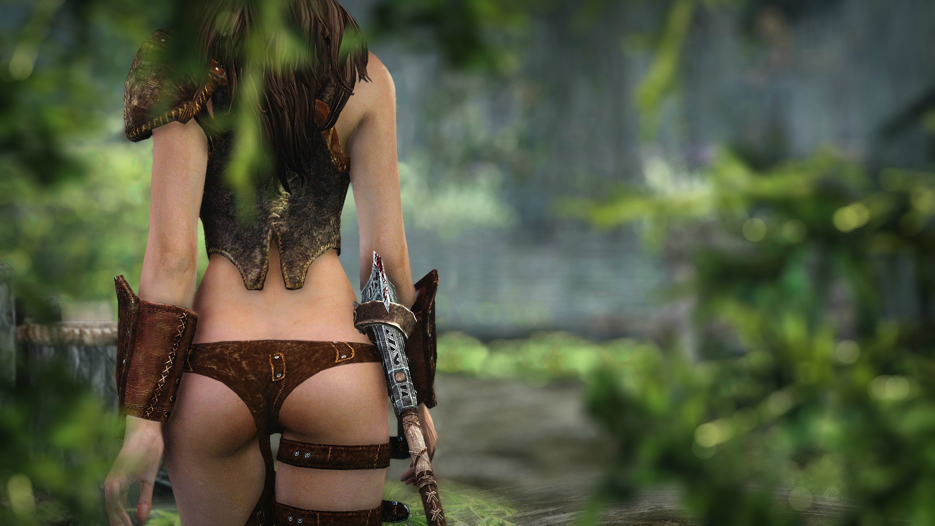 Elder scrolls girl butts sex picture